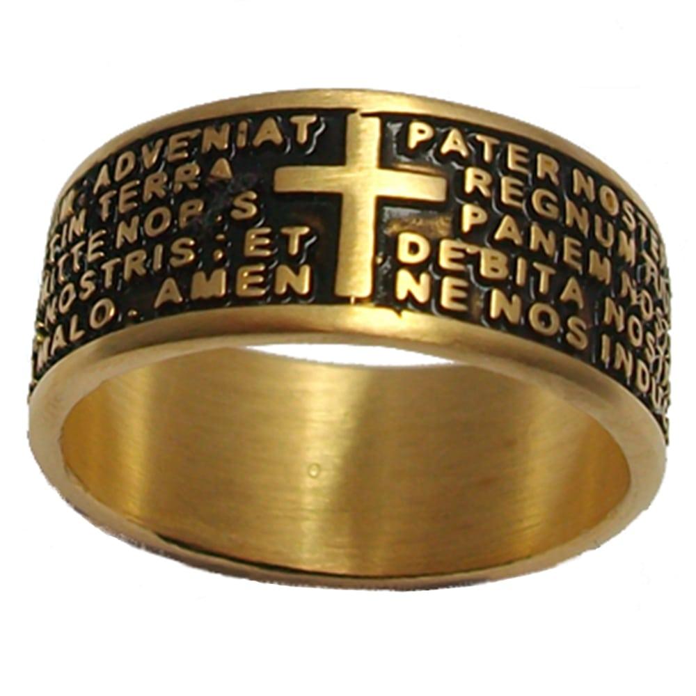 anello padre nostro