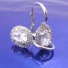 orecchini ovali in argento